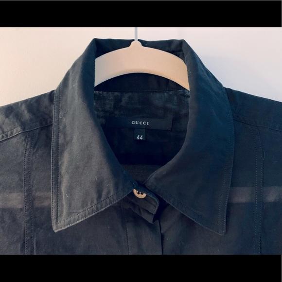 Gucci button-down shirts